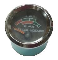 Battery Gauge/Charger Meter, 36 & 48 Volt